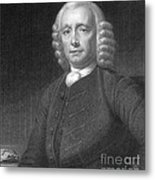 John Harrison, English Inventor Metal Print