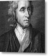 John Locke, English Philosopher, Father Metal Print
