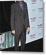 Johnny Depp At Arrivals For The Tourist Metal Print