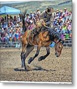 Jordan Valley Arena Action 2012 Metal Print