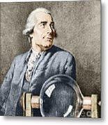 Joseph-michel Montgolfier, French Metal Print