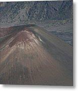 Ka Lua O Ka Oo Haleakala Volcano Maui Hawaii Metal Print