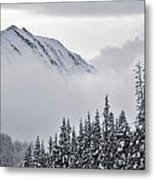 Kananaskis Country In Winter, Peter Metal Print