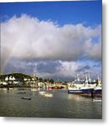 Killybegs Harbour, Co Donegal, Ireland Metal Print