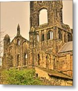 Kirkstall Abbey Metal Print