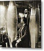 Konstantin Tsiolkovsky, Rocket Pioneer Metal Print