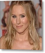 Kristen Bell At Arrivals For You Again Metal Print