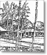 Kukio Estate Metal Print