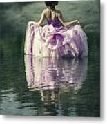 Lady In The Lake Metal Print