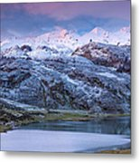 Lake Ercina Metal Print