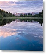 Lake Matheson Metal Print