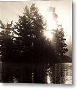 Lake Of The Woods, Ontario, Canada Metal Print