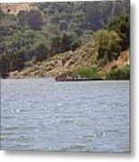 Lake Shabot Metal Print