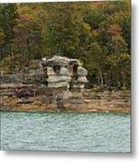 Lake Superior Pictured Rocks 49 Metal Print