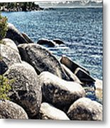 Lake Tahoe Vista Metal Print