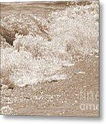 Lake Waves Metal Print