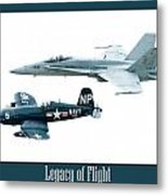 Legacy Of Flight Metal Print