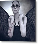 Libertine Angel Metal Print