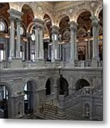 Library Of Congress - Washington D C Metal Print