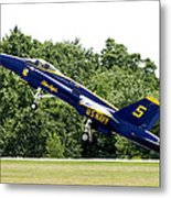 Lift Off Metal Print by Greg Fortier