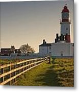 Lighthouse South Shields, Tyne And Metal Print