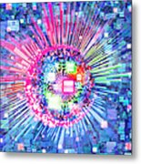 Lighting Effects And Graphic Design Metal Print