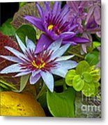 Lilies No. 32 Metal Print by Anne Klar