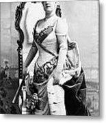 Lillian Russell (1861-1922) Metal Print