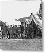 Lincoln & Mcclellan Metal Print