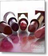 Lipsticks Metal Print