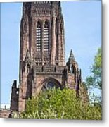 Liverpool Anglican Cathedral Metal Print