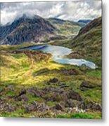 Llyn Idwal Lake Metal Print by Adrian Evans