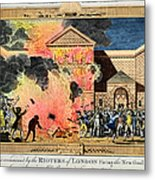 London: Gordon Riots, 1780 Metal Print