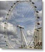 London Skyline Edf Eye  Metal Print