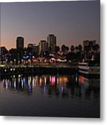 Long Beach Harbor Metal Print