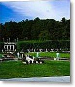 Longwood Gardens Fountain Garden Metal Print