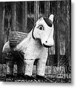 Lost Pony Metal Print