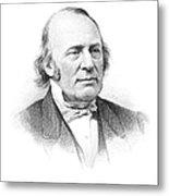 Louis Agassiz (1807-1873) Metal Print