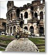 love locks in Rome Metal Print
