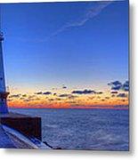 Ludington Michigan Lighthouse Metal Print
