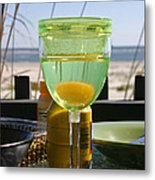 Lunch On The Porch Metal Print