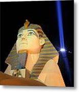 Luxor Sphinx Metal Print