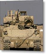 M2m3 Bradley Fighting Vehicle Metal Print