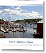 Maine Harbour Metal Print by Jim McDonald Photography