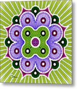 Mandala Of Abundance Metal Print