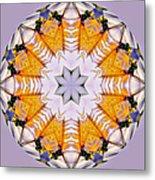 Mandala Of Love Metal Print