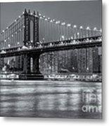 Manhattan Bridge II Metal Print
