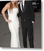 Mariah Carey Wearing A Georges Chakra Metal Print by Everett
