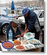 Marseilles Fishermen Metal Print