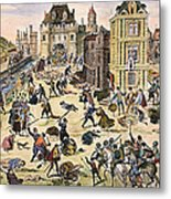 Massacre Of Huguenots Metal Print by Granger